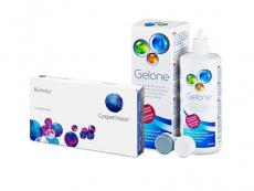 Biofinity (3 φακοί) + Υγρό Gelone 360 ml