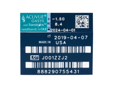 Acuvue Oasys with Transitions (6 φακοί)