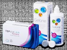 TopVue Air Multifocal (6 lenses) + Gelone Solution 360 ml