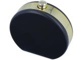 alensa.gr - Φακοί επαφής - Θήκη φακών με καθρέφτη Flacon - μαύρη