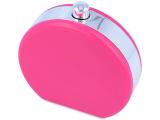 alensa.gr - Φακοί επαφής - Θήκη φακών με καθρέφτη Flacon - ροζ