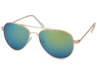 alensa.gr - Φακοί επαφής - Γυαλιά ηλίου Gold Pilot - Μπλε/Πράσινο