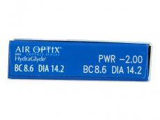 Air Optix plus HydraGlyde (6 φακοί)