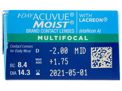 1 Day Acuvue Moist Multifocal (30 φακοί)