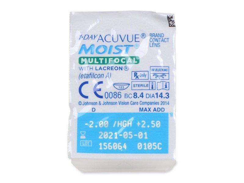 1 Day Acuvue Moist Multifocal (30 φακοί)