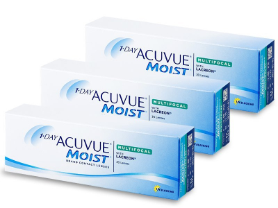 1 Day Acuvue Moist Multifocal (90 φακοί)