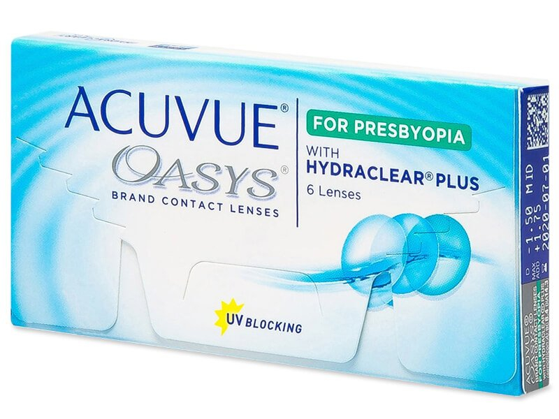 Acuvue Oasys for Presbyopia (6 φακοί)