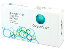 Biomedics 55 Evolution (6 φακοί)
