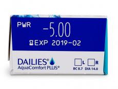 Dailies AquaComfort Plus (30 φακοί)