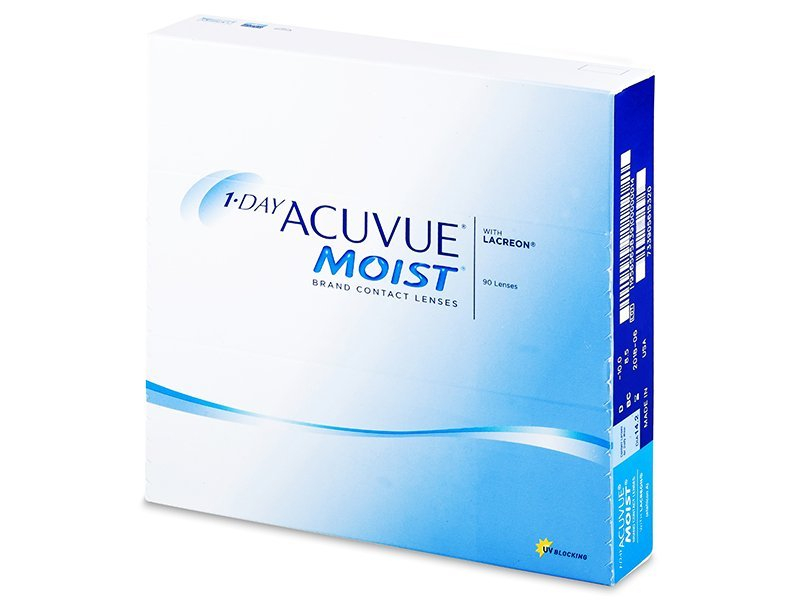 1 Day Acuvue Moist (90 φακοί)