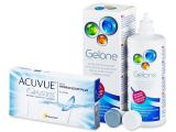Acuvue Oasys + Υγρό Gelone 360ml