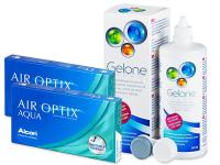 alensa.gr - Φακοί επαφής - Air Optix Aqua